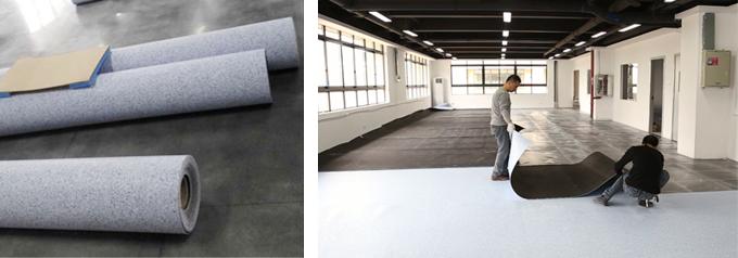 PVC防静电防尘防潮耐磨地板
